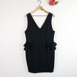 [FOREVER 21+] Ruffled Bodycon Dress
